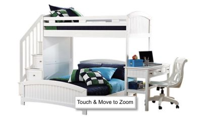 Loft bed - twin top and bottom
