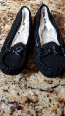 Sonoma Black Slippers
