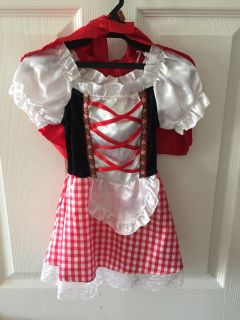 Little Red Riding Hood Costume 2T-4T