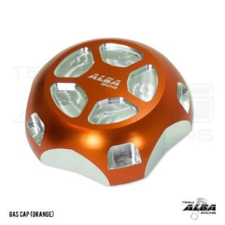 Sell Polaris Slingshot Gas Cap Billet aluminum Alba Racing Orange motorcycle in Santee, California, United States, for US $29.00