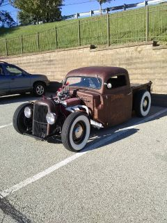 51 Ford f100 rat rod!