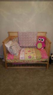 Convertible Crib w/ matching dresser