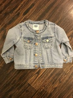 Infant Old Navy Jean Jacket - Like New!