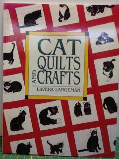 CAT QUILTS AND CRAFTS TEMPLATE BOOK