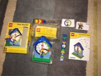 Lego watch&clock learning set