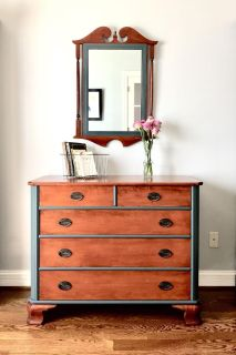Gorgeous Refinished Dresser Chest
