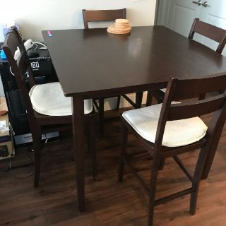 Elegant Dining Table w/ 4 Chairs for $300!