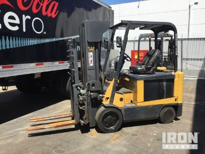 Cat E6500 Electric Forklift