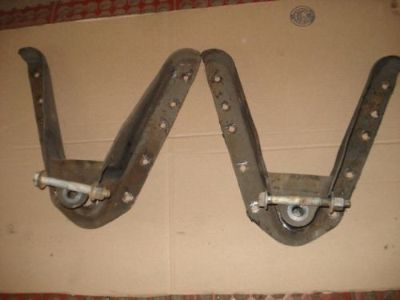 Find 1999-2006 SILVERADO/SIERRA 2500/3500HD LEAF SPRING FRAME HANGERS motorcycle in Dacula, Georgia, United States, for US $75.00