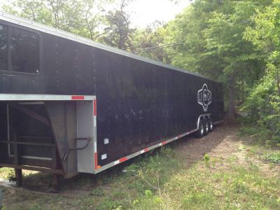 favorite this post 2006 Homes 49' Enclosed Car trailer 5th