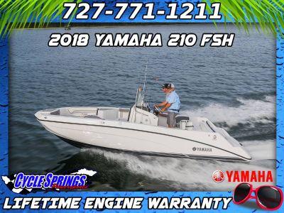2018 Yamaha 210 FSH Jet Boats Clearwater, FL