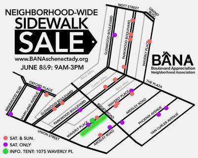 Neighborhood-Wide Sidewalk Sale!