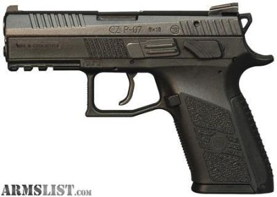 For Sale: CZ P-07 9MM New in Box P07