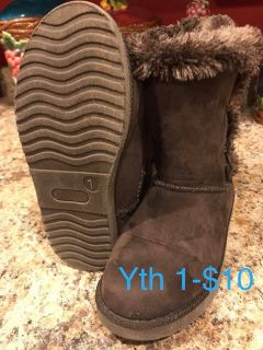 Girls Boots- Size 1