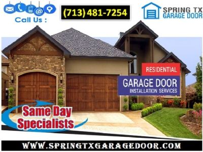Professional Garage Door Installation ($25.95) Spring Houston, 77379 TX