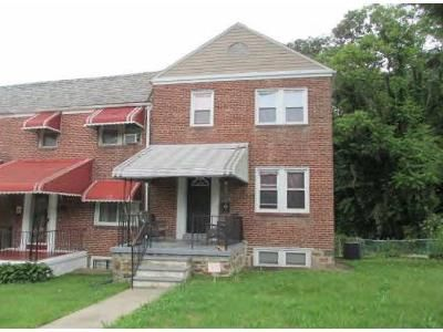 3 Bed 1 Bath Foreclosure Property in Baltimore, MD 21218 - The Alameda