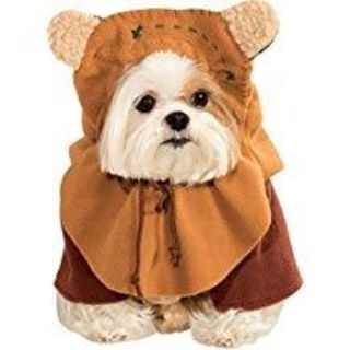 Ewok Costume for Dogs - For a S/M Dog