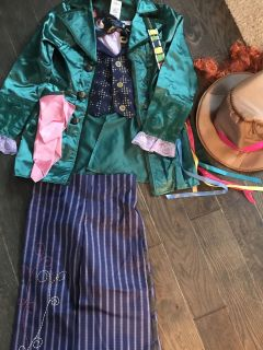 Disney Mad Hatter Costume. Size 7/8. Like new! $15