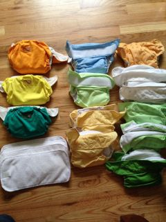 13 Cloth diapers