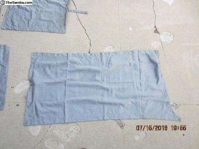 1993 poptop MV curtains 8 pieces