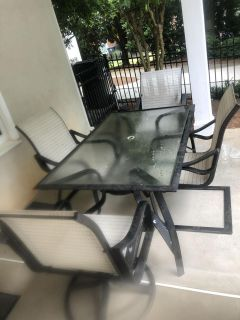 Outdoor Furniture Table and Chairs