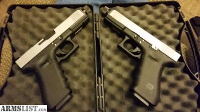 For Sale: Pair - Glock 22 Gen 3 RTF - Threaded - Lone Wolf