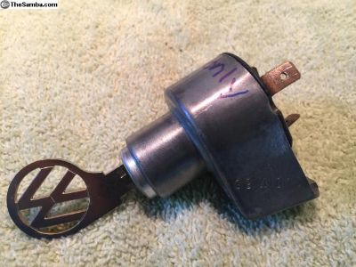 1967 only beetle ignition switch bug vw key