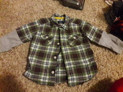 Baby boy 18 month Carter's long sleeve button up