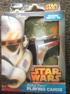 NEW - Star Wars - Playing Cards - Boba Fett
