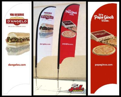 Fully Customizable Flying Promos and Roll up Banners For Promotions