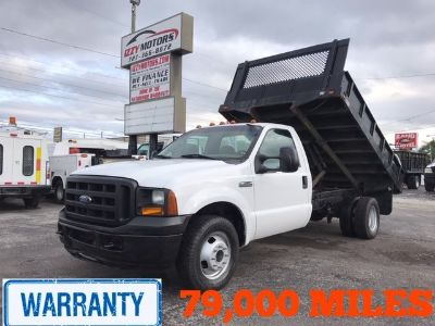 2006 Ford F350 Dump BED (White)