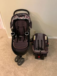Graco Stroller and Infant Car Seat Set