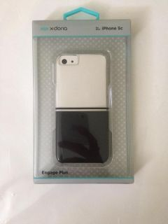 Iphone 5s & 5c Phone Case(Black&Clear)