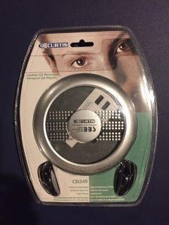 Curtis CD MP3 player still in original package.