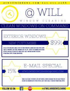 Exterior Window Cleaning - Only $99!