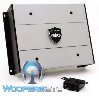 Buy WET SOUNDS HTX-1 MONOBLOCK 560W RMS SUBWOOFER SPEAKERS MARINE BOAT AMPLIFIER NEW motorcycle in Los Angeles, California, United States, for US $429.99