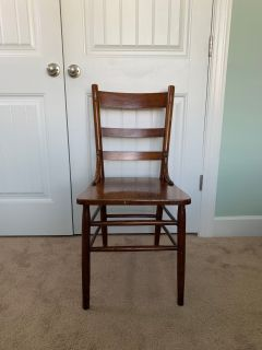 Wood Desk/Table Chair