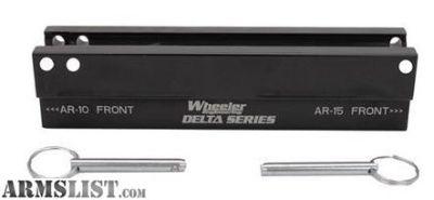 For Sale: Wheeler AR Upper Pic Rail Vise Block Delta Series 156888