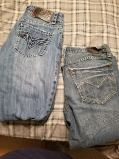 Never worn 30X34 jeans
