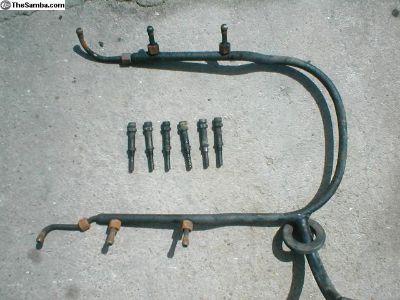 PORSCHE 911 3.0 air injection tubes