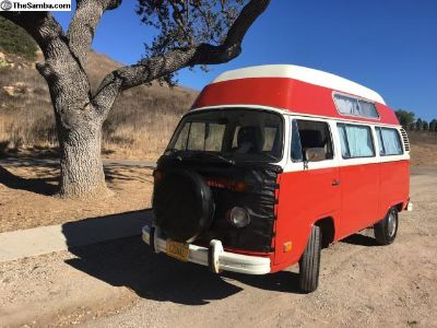 1974 High Top Camper Exellent Condition