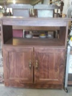 rolling cabinet for kitchen or dinning area