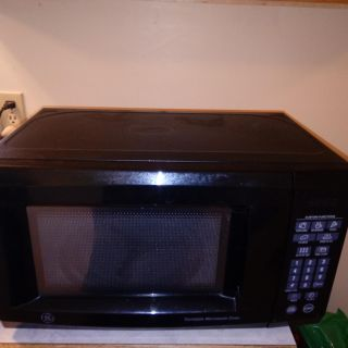 Small microwave works great just upgraded the kitchen