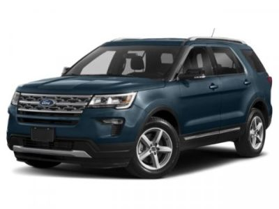 2019 Ford Explorer XLT (White)