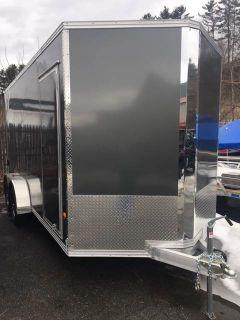 2018 ALCOM C 7X16 STEALTH Trailer - ATV Littleton, NH