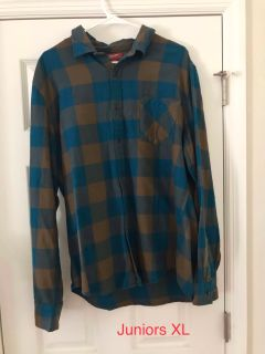 Teen boys juniors Arizona long sleeve shirt XL