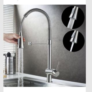 Kitchen Faucet Chrome Pull Down