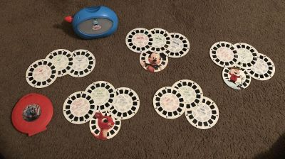 Thomas the Train Viewmaster and reels