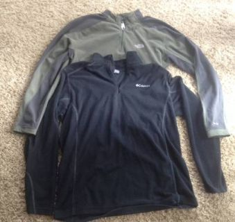 Columbia ans The  North Face Mens pullover
