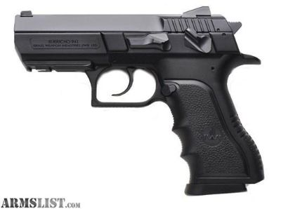 """For Sale: New in box IWI Jericho 941 9mm 3.8"""""""